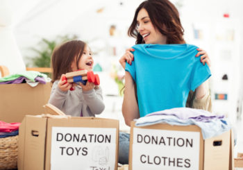 Downsize and Donate, Less is More
